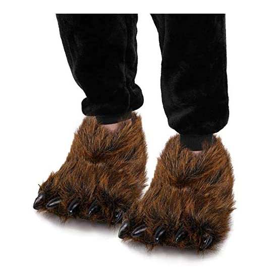 Bear Slippers With Claws | Fluffy Kawaii Slippers 2