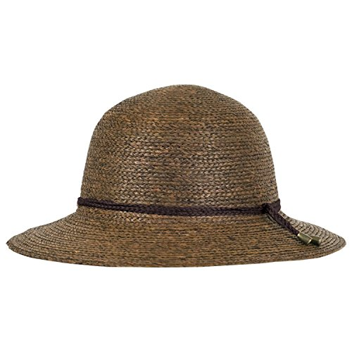 Tilley Womens Broad Brim Raffia Hat, Medium, Brown by Tilley