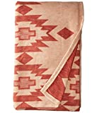 Pendleton Yuma Star Clay Organic Cotton Queen Bed Blanket
