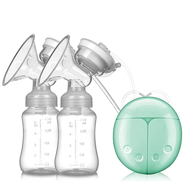 Amazon.com: Coerni - Bomba de leche eléctrica doble ...