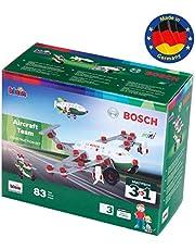 Theo Klein 8790 Bosch 3-in-1 Aircraft Team-bouwset I Voor het bouwen van verschillende vliegtuigen I Inclusief bouwplannen voor 3 modellen I Speelgoed voor kinderen vanaf 3 jaar
