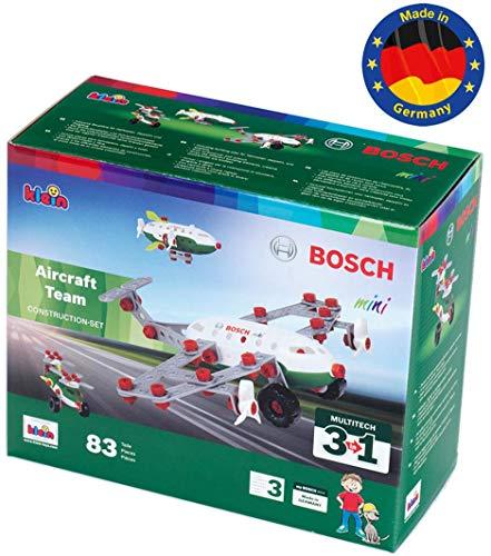 Theo Klein- 8790 Bosch 3 In 1 Set De Construcción, Aircraft Team, Juguete, (8790) , color/modelo surtido