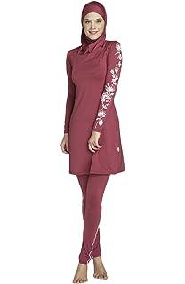 4c16d8d2b8716 MAGNIVIT Muslim Women s 3 Piece Full Cover Islamic Detachable Hijab Burkini