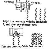 YEQIN Border Guide Sewing Machine Presser Foot