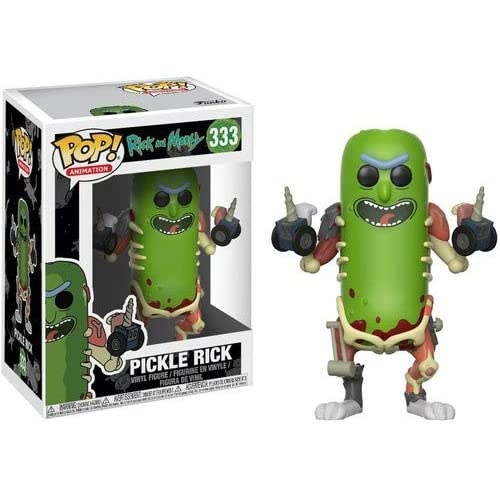 Funko Pop! Animation: Rick & Morty - Pickle Rick Collectible Figure