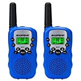 BAOFENG BF-T3 3KM Two Way Radio Child Walkie Talkie 22 FRS/GMRS with Built in LED Torch(Pack of 2)