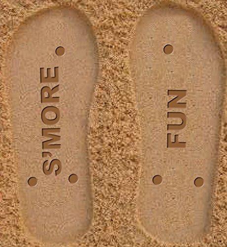 Iscream Vrouwen Funprints Strand En Kampeerflippers - Pastel Smores