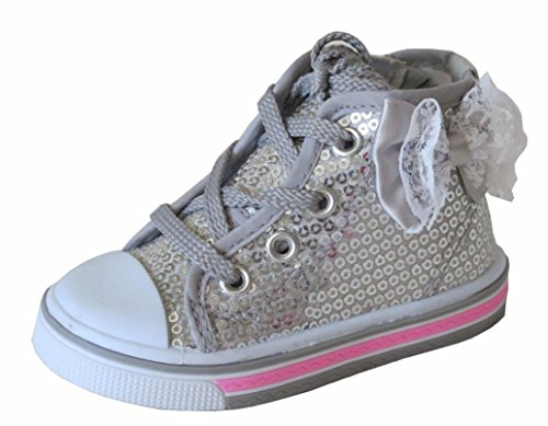 new-girls-infant-baby-silver-toddler-tennis-shoes-high-top-sneakers-sequins-2