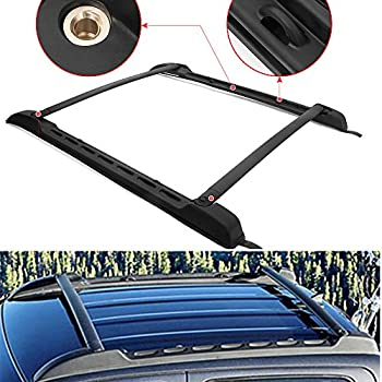 Amazon.com: ALAVENTE Roof Rack Cross Bars System for 2010 2011 2012 2013 2014 2015 Toyota Tacoma ...