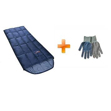 Buck703 Ultra ligero saco de dormir de plumón de pato relleno de 350 G momia rectangular