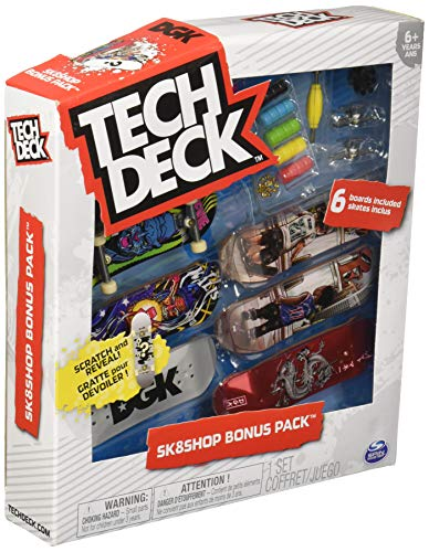 Tech Deck - Sk8shop Bonus Pack Series 3 - Flip Skateboards