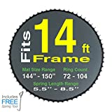 147'' Mat with 72 rings FOR 14ft Round Frame and 6.5'' to 7.0'' Springs