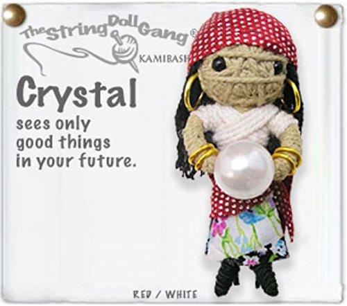 - Kamibashi Crystal Fortune Teller The Original String Doll Gang Keychain Clip