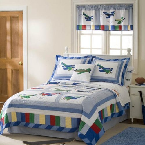 Pem America 2-Piece Fly Away Quilt Set, Twin (Pem America Twin Bedding)