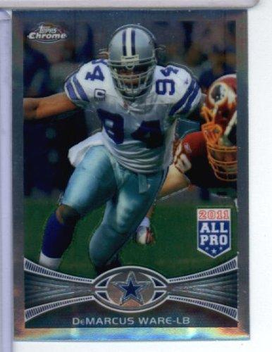 2012 Topps Chrome NFL Football Card # 134 DeMarcus Ware Dallas Cowboys