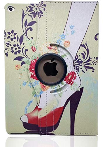 LiViTech(TM) Apple iPad Air2 ファッション ハイヒール シューズデザイン 360度回転 PUレザー スマートケースカバー Apple iPad Air 2用   B07LDMSP92