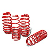 Nissan March/Micra Suspension Lowering Spring (Red) - K13