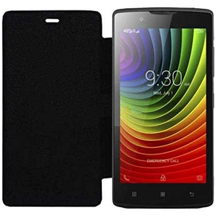 check out 7c7d8 5c564 Scudomax Sc-0352 Flip Cover for Lenovo A2010 (Black)