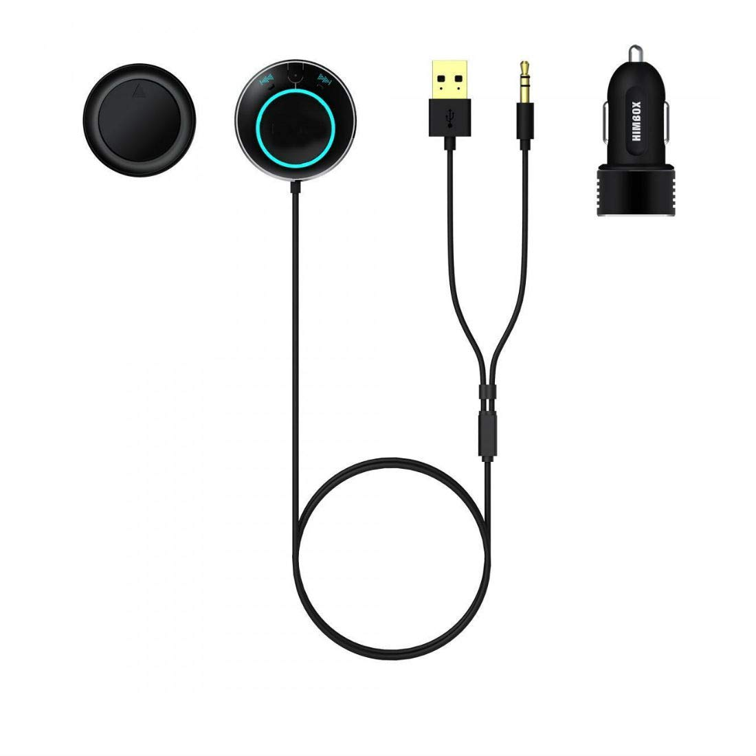 ver Himbox HB01 Bluetooth 4.0 Hands-Free Car Kit