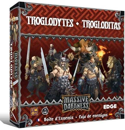 Edge Entertainment - Caja de enemigos: Trogloditas - Español (EECMMD03): Amazon.es: Juguetes y juegos