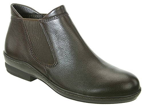 David Tate Women's London Fashion Ankle Boots, Brown Leather, 5.5 M