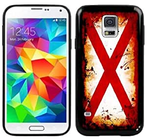 Alabama Flag Handmade Samsung Galaxy S5 Black Case