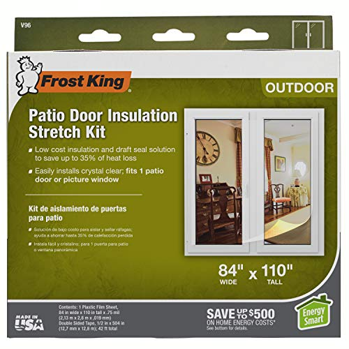 Frost King V96H Stretch Window Kit 84-Inch by 110-Inch
