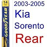 2003-2005 Kia Sorento Wiper Blade (Rear) (Goodyear Wiper Blades-Premium) (2004)