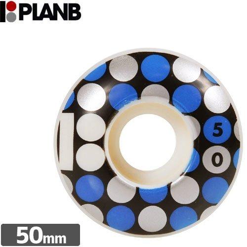 刺す工業化するに関して【PLAN-B プランビー ウィール】TEAM DOTS WHEELS【50mm】NO13 [並行輸入品]