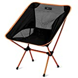Ultra-Light Weight Folding Chair, a Seat Anywhere, Outdoors or Indoors – Compact, Foldable and only 1.9 Pounds, Easily Portable with Storage Bag, An Adventure Essential for Camping by Thira Outdoors