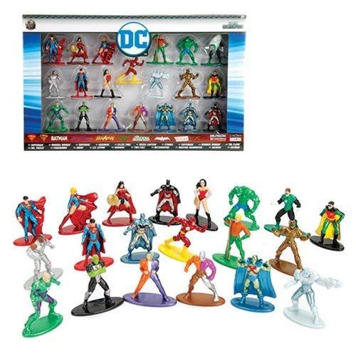 Jada Toys DC Comics Nano Metal Figurines 20 Pack Standard