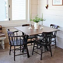 Nathan Home 41001 Kalos Drop Leaf Kitchen Dining Table, Rustic Brown
