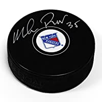 Mike Richter New York Rangers Signed Autograph Model Hockey Puck