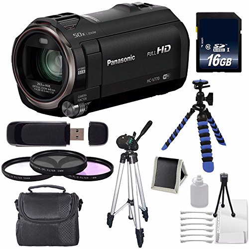 Panasonic HC-V770K Full HD Camcorder for sale  Delivered anywhere in USA