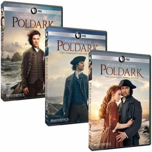 Poldark: The Complete Series Seasons 1-3 DVD