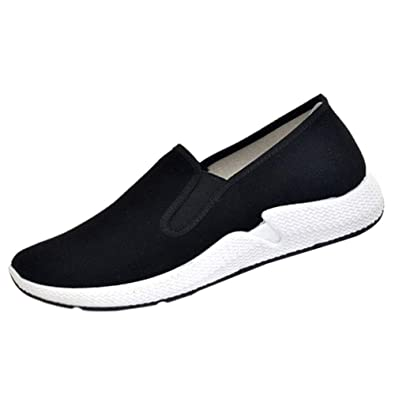 6d7b9f52a0a4d Huatime Chaussures Kung Fu Arts Martiaux Tai Chi Homme - Chinoises  Classique Couches Coussin Souple Semelles