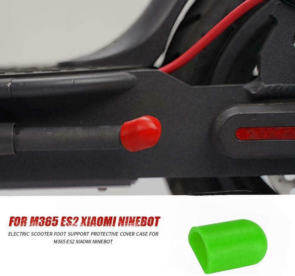 Fesjoy Couverture de b/équille M365 Housse de Protection pour Pied Support de Pied en Silicone Compatible avec Le Scooter /électrique Xiaomi M365 Ninebot ES2 ES4