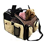 Heartland Pet Products Large Soft Sided Pet Car Seat/Carrier-16.5X14.5X14 for maximum travel comfort by Review