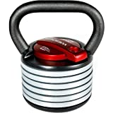 Weider SpaceSaver 40 lb. Adjustable Kettle Bell