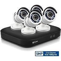 Swann SWDVK-849004-US 8 Channel 5MP Security System 2TB DVR & 4 x 5MP Cameras