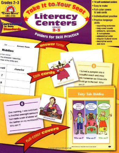 Literacy Centers, Grades 2-3 (Seat Phonics Centers)