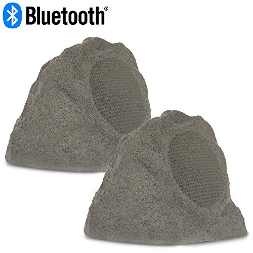 Theater Solutions RBBT6GMV Fully Wireless 200 Watt Powered Bluetooth Granite 6.5