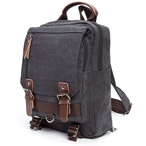 Travel Outdoor Computer Backpack Laptop Bag (Grey) - 8