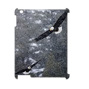 Bald Eagle Customized 3D Cover Case for Ipad2,3,4,custom phone case ygtg579763