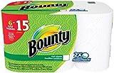(US) Bounty Paper Towels, White, 6 Huge Rolls