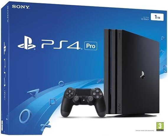 PlayStation 4 Pro (PS4) - Consola, Color Negro: Amazon.es: Videojuegos