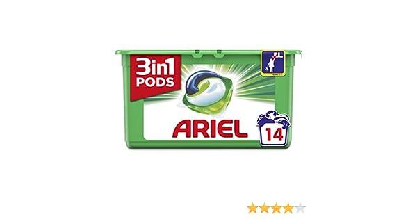 Ariel 3in1 Pods Original Detergente en Cápsulas para 14 Lavados ...