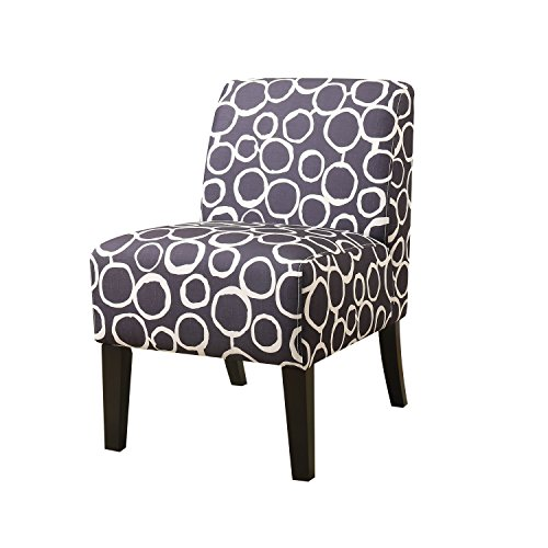 ACME Ollano Pattern Fabric Accent Chair For Sale