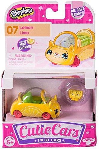 Shopkins Cutie Cars #07 Lemon Limo with Mini Shopkin Exclusi