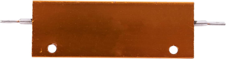 Moligh doll Plaque or Aluminium Resistor Resistance Puissance 100W 4 Ohm 4R